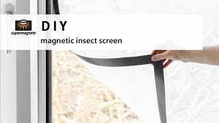 Download DIY | Magnetic Insect Screen (super easy) Video