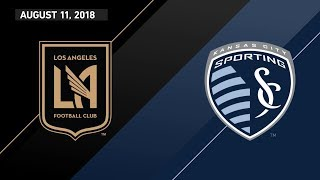 Download HIGHLIGHTS: Los Angeles Football Club vs. Sporting Kansas City | August 11, 2018 Video
