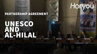 Download UNESCO & Al-Hilal Saudi Football Club Partnership Signing Ceremony Video