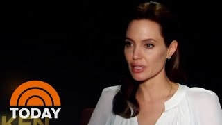 Download Jolie On 'Unbroken' Inspiration: 'I Can't Talk About It Without Crying' | TODAY Video