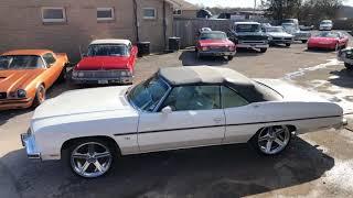 Download 1975 Caprice ″SOLD″ Classic Convertible Maple Motors Video