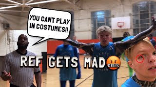 Download REF GETS HEATED! Playing 5v5 in COSTUMES! Video