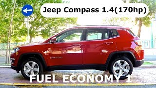 Download 2017 Jeep Compass 1.4 (170hp), fuel economy 1 Video