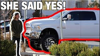 Download *ASKING GIRLS* DOES THIS TRUCK MAKE IT LOOK LIKE IM COMPENSATING? Video