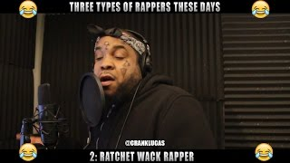 Download THREE TYPES OF RAPPERS THESE DAYS Video
