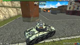 Download Tanki Online - Little game with Hornet M1, Railgun M2 and Tundra Video