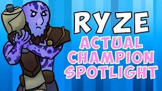 Download Ryze ACTUAL Champion Spotlight Video