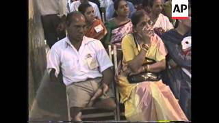 Download INDIA: BOMBAY: MARRIAGE BUREAU FOR HANDICAPPED PEOPLE Video