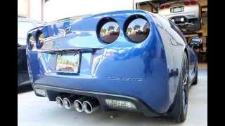 Download HAWKS Corvette C6 LS2/M6 Sinister Cam/AR Headers/Magnaflow 425hp/403tq Video