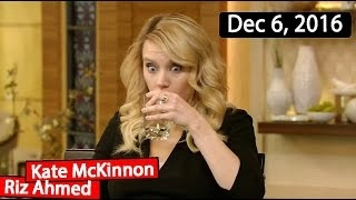Download Kate McKinnon, Riz Ahmed Interview | Live with Kelly TV Show (December 6, 2016) Video