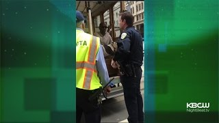 Download Owner Of Pit Bull Service Dog Kicked Off San Francisco Cable Car Video