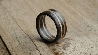 Download Woodturning - Double maple ring Video