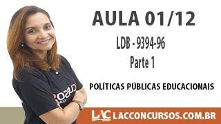Download SEDUC MT - Políticas Públicas Educacionais - LDB 9394 96 - Parte 1- 01/12 Video