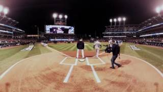 Download VR 360: World Series Game 1 starting lineups announced Video