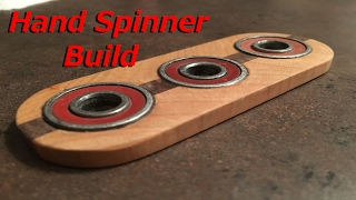 Download HOW TO MAKE A WOOD HAND SPINNER EASY Video