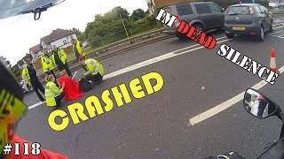 Download Biker CRASH, WRONG side of the road & HURRY UP!!! - Deadly Observations #118 Video