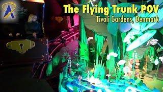 Download The Flying Trunk - Den Flyvende Kuffert POV at Tivoli in Copenhagen, Denmark Video