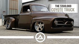 Download The $500,000 Coyote Truck | '55 Ford F100 Video