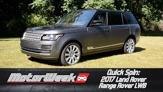 Download Quick Spin: 2017 Land Rover Range Rover LWB - More to Love Video