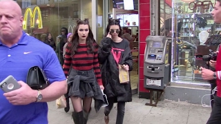 Download Bella Hadid and Kendall Jenner go to McDonald after a fashion show in NYC Video