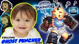 Download SHAWN'S A CARTOON BABY BOSS GHOST PUNCHING WRESTLER 3D PRINTED TOY!?! (SKYLANDERS IMAGINATORS App) Video