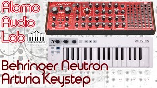 Download Behringer Neutron & Arturia Keystep - The Best Analog Synth and Controller Combo? Video