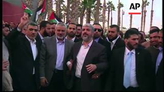 Download Hamas leader Khaled Mashaal leaves Gaza after historic first visit Video