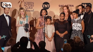 Download Hidden Figures: Press Room Q&A   23rd Annual SAG Awards   TBS Video