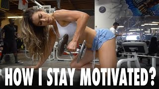 Download ANLLELA SAGRA | How I stay motivated?? - Upper body workout Video
