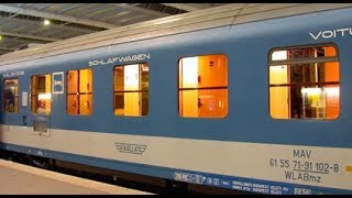Download Sleeper Car Experience: Budapest Hungary to Bucharest Romania. Video