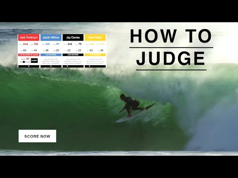 So You Think You Can Judge Surfing?