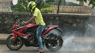 Download How to do a Burnout on a motorcycle !!!!! Video