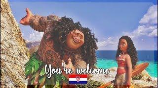 Download Moana / Vaiana: You're welcome (Croatian) S&T Video