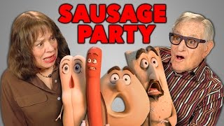 Download Elders React to Sausage Party Trailer Video