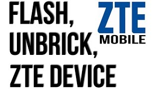 Download HOW TO FLASH ZTE MOBILES BY FLASH TOOL UNBRICK, UNLOCK Video