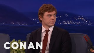Download Evan Peters Accidentally Showed Jessica Lange His Junk - CONAN on TBS Video