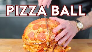 Download Binging with Babish: Pizza Ball from The Eric Andre Show Video