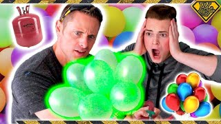 Download Helium vs. Bunch O Balloons Experiment Video