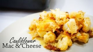 Download How to Make Cauliflower Mac and Cheese With Bacon! | Recipe Video Video
