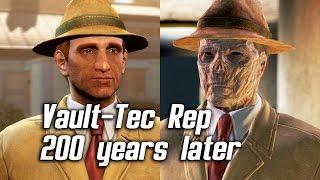 Download Fallout 4 - Meeting Vault-Tec Representative 200 Years Later Video