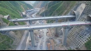 Download Railway Tunnel with China's Biggest Cross Section Completed in NW China Video