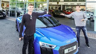 Download COLLECTING MY FRIENDS AUDI R8 V10PLUS Video