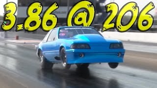 Download TWIN 102MM TURBO Mustang - Fletcher Cox's RACE CAR! Video
