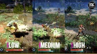 Download Black Desert Mobile {Android} : Graphics Comparison Video
