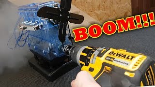 Download BOOM!!! 95,000rpm VS Haynes Build your own ENGINE Rod exits BLOCK!!! Video