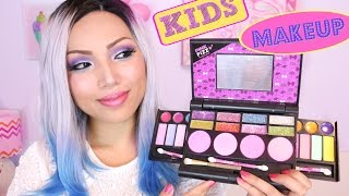Download FULL FACE USING ONLY KIDS MAKEUP !!! Video