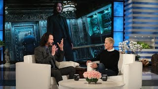 Download Keanu Reeves Kicked a Person HERE While Filming 'John Wick: Chapter 3' Video