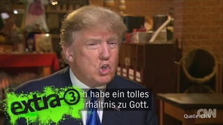 Download Christian Ehring: Die erste Woche mit US-Präsident Trump | extra 3 | NDR Video