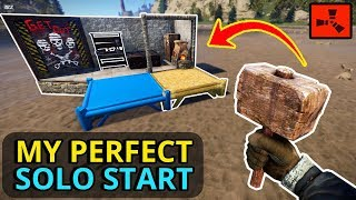 Download RUST SOLO - A PERFECT RUST SOLO START To A NEW WIPE! (Part 1) Video