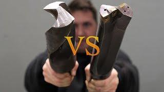 Download Huge 3 inch Twist Drill VS Carbide Tip Video